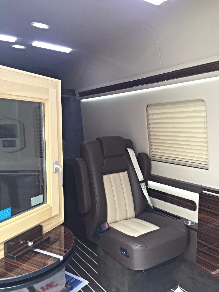 Inside of the Mobile Fenestration Studio